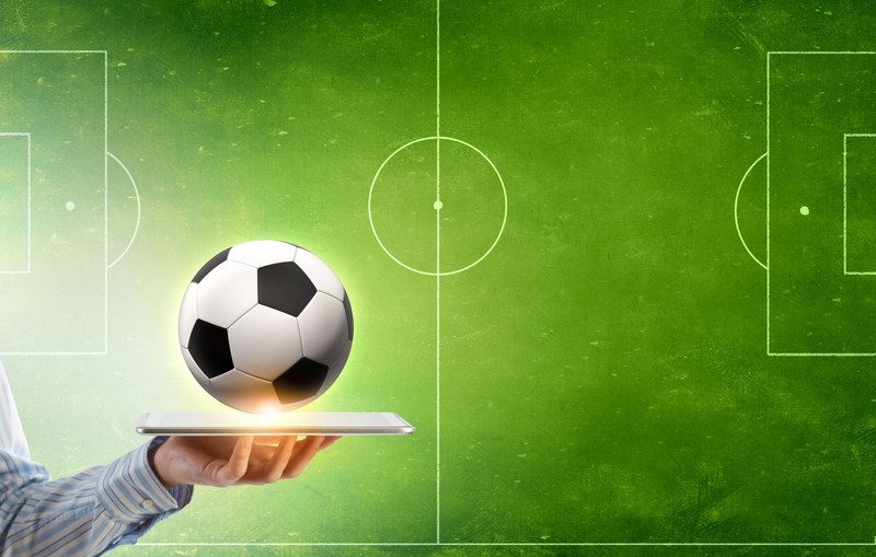 サッカーのフィールド